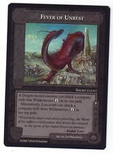 Middle Earth Dragons Limited Rare Fever of Unrest