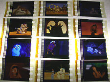 ALADDIN Film Cell Lot of 12 - collectible compliments movie dvd book Disney