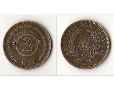 2 CENTESIMOS 1870 PARAGUAY