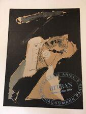 Affiche Bitran Galerie Ariel 1969