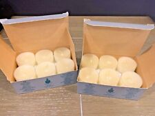 Partylite Vanilla Tealight 24 Candles New V0411 Tea Lite Party