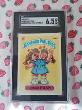 SCHIZO FRAN 1985 Garbage Pail Kids #49b Series 2 SGC GRADED CARD 6.5 EX NM+