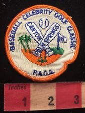 Palm Spring CA Patch PAGA BASEBALL CELEBRITY GOLF CLASS CANYON COUNTRY CLUB 81D7