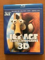 Ice Age: Dawn of the Dinosaurs 3D Blu-ray+DVD & Digital Copy Included+Dig Code