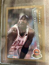 1992 Fleer 246 Michael Jordan (MINT) Dual MVP Award Winner! Finals/Season MVP