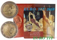 2 €  SAINT MARIN  COMMEMORATIVE  2010 .  130 000 EX   RARE  /  2010   disponible