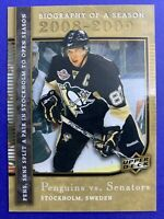 2008-09 Upper Deck Biography Of A Season #BS7 Sidney Crosby Pittsburgh Penguins