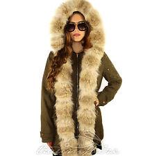 Parka Pelz Fur Futter Fishtail Jacke Feldparka Army Kojote Fuchs Coyote Fox