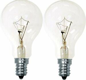 Ge Ceiling Fan Bulb 60 W 635 Lumens A15 Candelabra Clear Carded 2 Pack