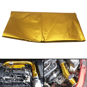 """39""""X47"""" Self-adhesive Reflect-A-Gold Heat Barrier For Engine Covers/Seat Bottoms"""