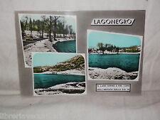 Vecchia cartolina foto d epoca di Lagonegro lago Sirino scorcio veduta Rotalfoto