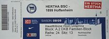TICKET 2008/09 Hertha BSC Berlin - 1899 Hoffenheim