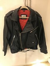 mens leather biker jacket