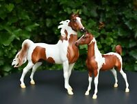 Breyer Trad Horse SET Chubasco and Caravelle Stallion & Foal - Father & Daughter