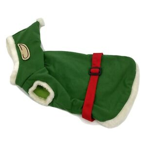 Christmas Workshop Elf Dog Pet Costume Size Small