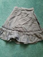 next 18-24 months 2 years girl denim blue skirt