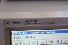 Agilent Logic Analyzer System 16702b Opt003
