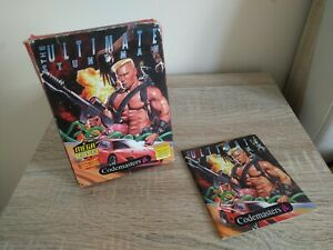 The Ultimate Stuntman - Nintendo NES - BOX AND MANUAL ONLY! - Codemasters