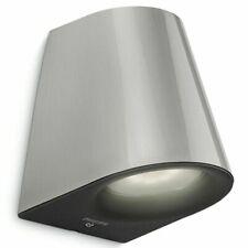 Philips LED Luz de Pared myGarden Virga 3 W Plata Al Aire Libre Jardín Lámpara de 172874716