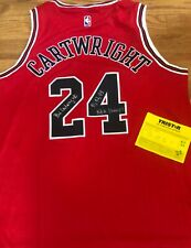 Chicago Bulls BILL CARTWRIGHT Signed Auto Jersey 91 92 93 NBA CHAMPS PHOTO PROOF