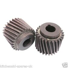 "2 X Motor Pinion Fibre Gear For Crypto Peerless C28 & C28F Peeler 5/8"" Shaft LKS"