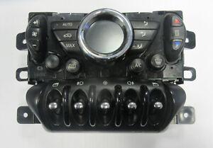 Genuine MINI Black Air Con Climate Control & Window Switches for R56 R55 LCI #1