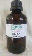 DMSO 99.99 Pharm Grade 500mls in Glass Green Light Supplements