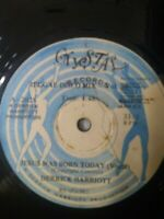 "Derrick Harriott-Jesus Was Born Today 12"" Vinyl Single 1982 JA REGGAE"
