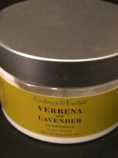 CRABTREE & EVELYN VERBENA AND LAVENDER BODY CREAM 8.8 OZ NEW DISCONTINUED
