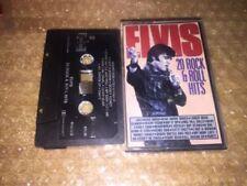 Elvis Presley 20 Rock & Roll Hits Holland Cassette Tape Flashback 64038 Used