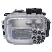 Mcoplus J5 40M/130ft Camera Underwater Housing Case For Nikon1 J5 10-30mm Lens