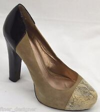 BCBG Judd platform Heels tall Heel Shoes pumps SZ 9.5 39.5 2 tone patent leather