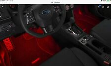 """SALE"" 2013-2019 Subaru Sti Wrx Impreza Interior RED Illumination Kit Genuine"