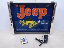 Jeep 4 wheel drive vehicles LED Display light sign box
