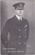 Naval Postcard - Vice Admiral Sir David Beatty by Faulkner