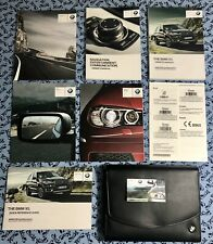 2014 BMW X5 OWNERS MANUAL w Nav + i Drive BOOKS xDrive 35i, 50i, OEM SET A+