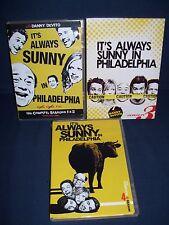 It's Always Sunny in Philadelphia Season 1 - 4 Used DVD Lot