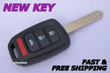 OEM HONDA ACCORD CIVIC keyless entry remote fob transmitter +NEW CASE /UNCUT KEY