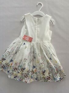 Little Kids UK girls Floral Occasion Dress - Size 2-3 Years - Brand New