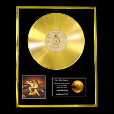 VAN HALEN BALANCE CD GOLD DISC RECORD DISPLAY FREE P&P!