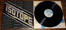 ISOTOPE ~ SAME S/T SELF EPONYMOUS DEBUT ~UK GULL VINYL LP 1974 ~ 1ST PRESS P1/P1