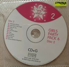 STTW Karaoke - Girls Party Pack 6 - Disc 2 [STTW2347] - Karaoke CDG CD CD+G