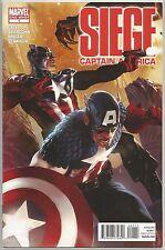Siege #1 : Captain America : Marvel comic book