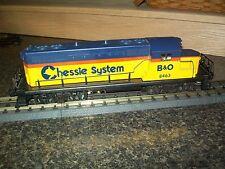 Lionel O Scale B&O CHESSIE GP-7 8463  Diesel Locomotive Very Clean Runs Great