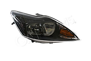 HELLA Ford Focus II 2 Titanium Facelift 2008- Black Headlight Front Lamp Right