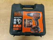 Black and Decker BL188 18v Brushless Combi Drill + 2 Batteries + Charger