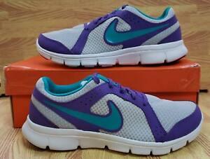 Girls Nike Flex Experience (GS) 599344-005 Pr Pltnm NEW Size 6.5Y
