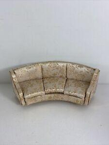 ideal petite princess fantasy furniture-salon curved sofa