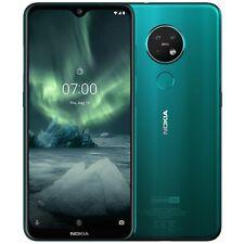 "Nokia 7.2 64GB Smartphone cyan green Dual-SIM Android Triple Kamera 6,3"""
