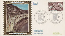 FRANCE FDC - 896 1807 4 VALLEE DU LOT 7 9 1974 - LUXE